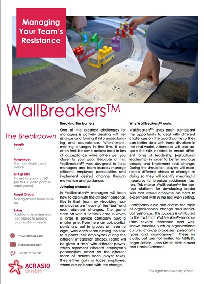 Wallbreakers Infoanforderung