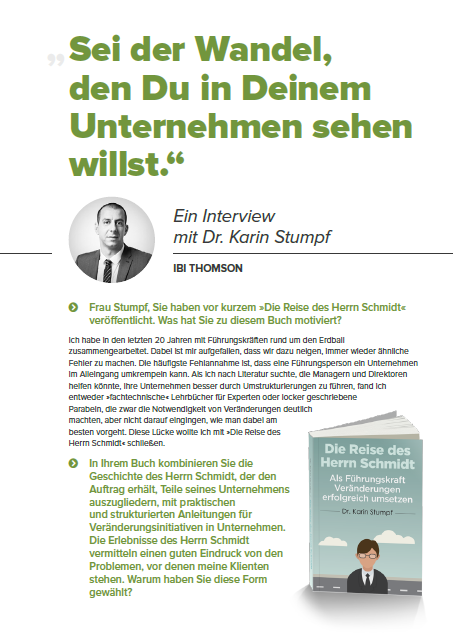 Interview Karin Stumpf