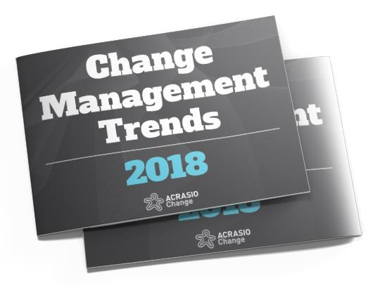 Change Management Trends 2018