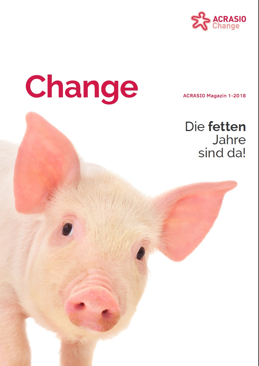 Cover Change Magazin 1-2018